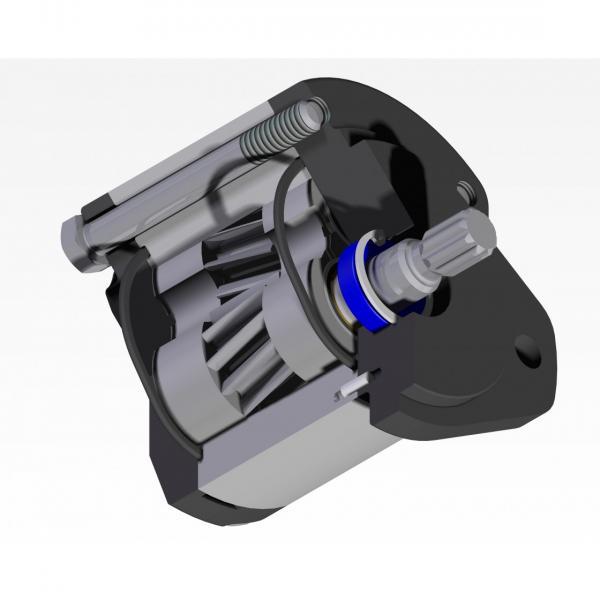 8L 12V Volt Pompa Idraulica Gruppo Oleodinamica Doppio Effetto Metallo Riparare #1 image