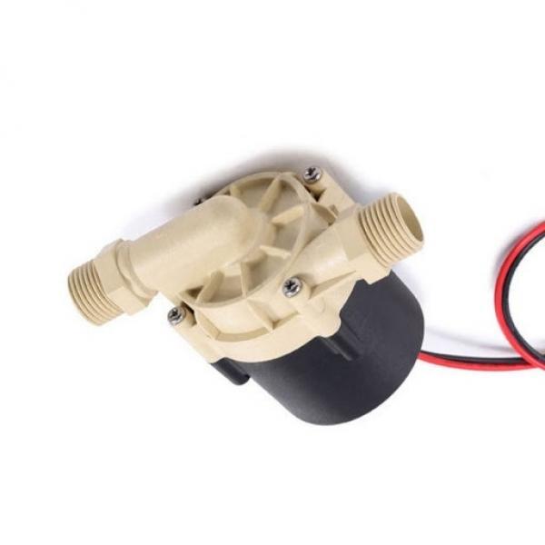 8L 12V Volt Pompa Idraulica Gruppo Oleodinamica Doppio Effetto Metallo Riparare #2 image